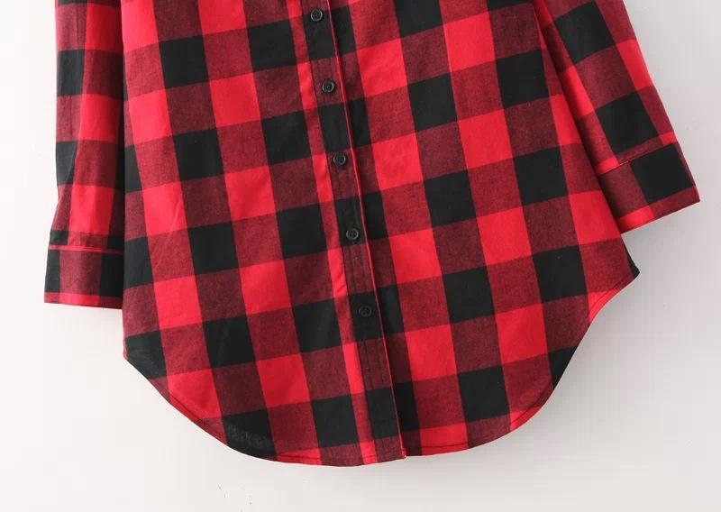 Camicia donna a quadri lunga red queen stoprice for Stoprice recensioni