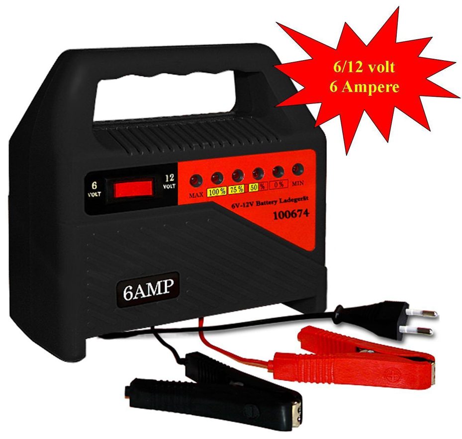 Carica batterie moto auto barca camper 6 12v stoprice for Caricabatterie auto moto lidl
