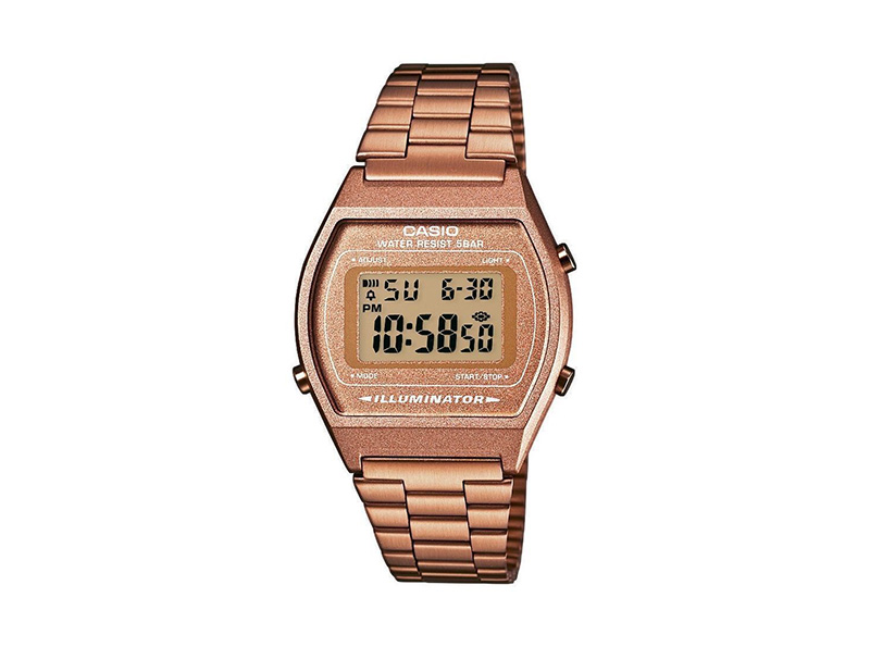 orologio casio color bronzo