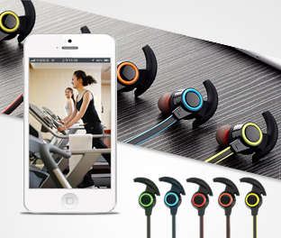 Cuffie Stereo Sport Bluetooth AMW-810