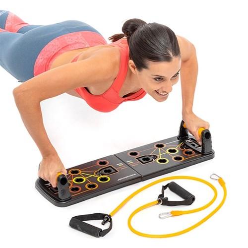 Set di allenamento panca e bande di resistenza - Smart Workout