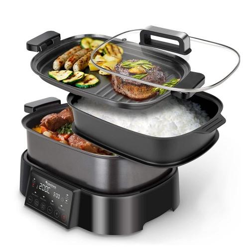 Multi Cooker 8in1 robot da cucina multifunzione 6 litri