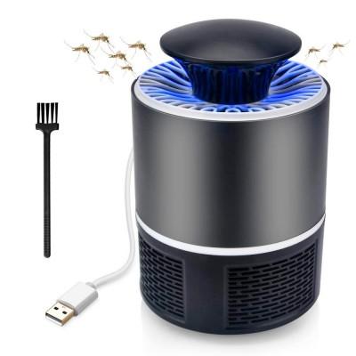 Lampada led cattura zanzare con aspiratore