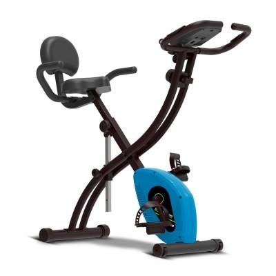 Fitness Bike Cyclette pieghevole da allenamento con computer e sensori