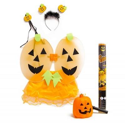 Halloween Pack Vestito Zucca + Accessori