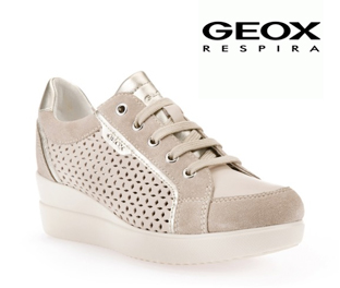 Geox sneaker donna Stardast taupe