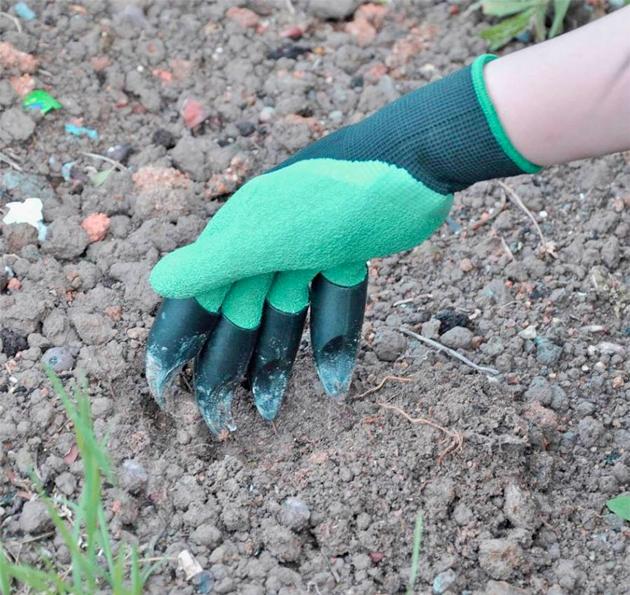Guanti da giardino impermeabili con artigli per scavare for Stoprice recensioni