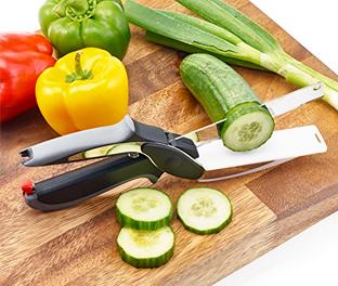 Smart Cutter Forbice taglia e affetta con tagliere